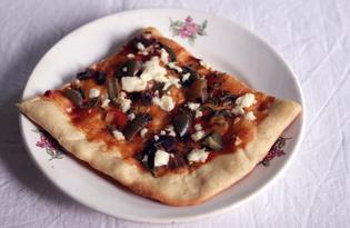 Пицца с бараниной и козьим сыром (пошаговый фото рецепт)