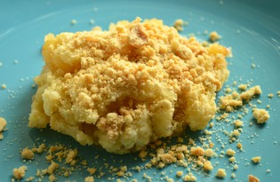 Яблоки, запеченные под штрейзелем (пошаговый фото рецепт)