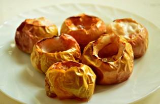 Яблоки с медом, запеченные в духовке (пошаговый фото рецепт)