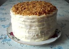"""Торт со сметанным кремом """"Рыжик"""" (пошаговый фото рецепт)"""