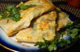 Лаваш с брынзой и сыром (рецепт с пошаговыми фото)
