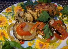 Маринованный окорок с овощами (рецепт с пошаговыми фото)