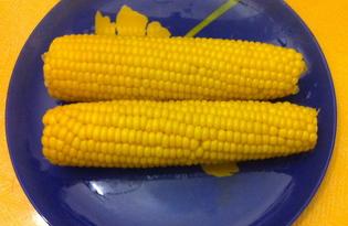 Кукуруза на пару (рецепт с пошаговыми фото)