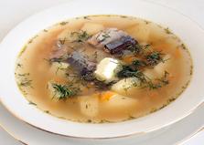 Суп из сайры консервированной (пошаговый фото рецепт)