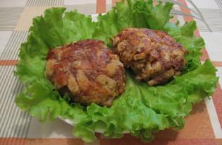 Котлеты с панировкой из хлеба (пошаговый фото рецепт)