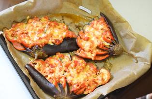 Баклажаны под сыром (пошаговый фото рецепт)