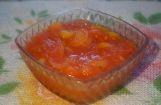 Лечо из перца с луком на зиму (пошаговый фото рецепт)