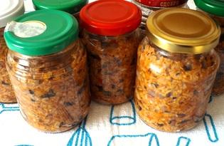 Икра грибная с помидорами (пошаговый фото рецепт)