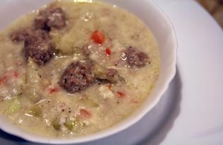 Фрикадельки с капустой в соусе бешамель (пошаговый фото рецепт)