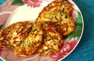 Оладушки из кабачков с манкой (пошаговый фото рецепт)