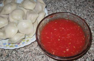 """""""Хреновина"""" с помидорами (пошаговый фото рецепт)"""