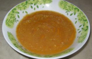 Суп-пюре из овощей (пошаговый фото рецепт)