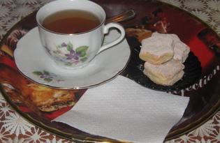 Творожно - банановое печенье для детей (пошаговый фото рецепт)