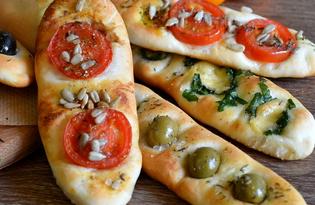 Фокачча итальянская (пошаговый фото рецепт)