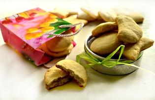 Песочное печенье с кокосовой стружкой (пошаговый фото рецепт)