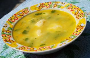 Овощной суп с сырными шариками (пошаговый фото рецепт)
