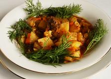 Овощное рагу с тушенкой (пошаговый фото рецепт)