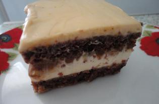 """Вкусный торт """"Сникерс"""" (пошаговый фото рецепт)"""