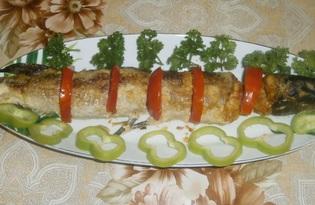 Фаршированная щука запеченная в духовке (пошаговый фото рецепт)