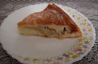 Банановый пирог на кефире (пошаговый фото рецепт)