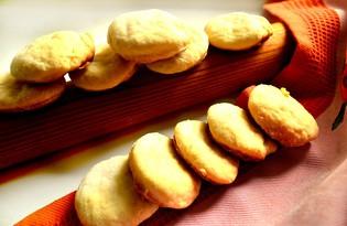 Ванильное печенье с творогом (пошаговый фото рецепт)