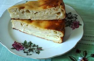 Картофельно - капустная шарлотка (пошаговый фото рецепт)