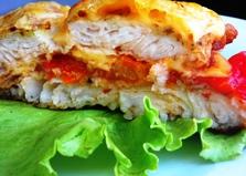 Запеченное филе пангасиуса с помидорами и сыром (пошаговый фото рецепт)