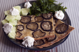Фокачча с баклажанами (пошаговый фото рецепт)