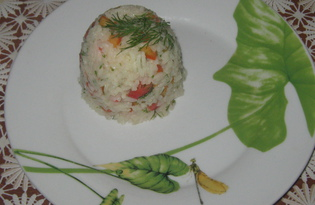 Рис со свежими овощами (пошаговый фото рецепт)