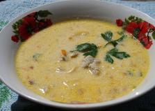 Сырный суп с фрикадельками (пошаговый фото рецепт)