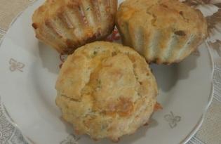 Сырные кексы (пошаговый фото рецепт)