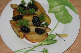 Картофель с черносливом (пошаговый фото рецепт)