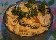 Салат с нутом (пошаговый фото рецепт)