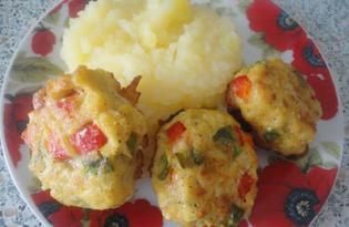 Овощные тефтели (пошаговый фото рецепт)