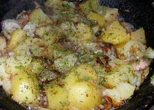 Рыбные потроха с картофелем (пошаговый фото рецепт)