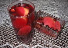 Компот с черноплодной рябиной и яблоками (пошаговый фото рецепт)