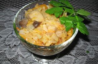 Солянка грибная с помидорами на зиму (пошаговый фото рецепт)