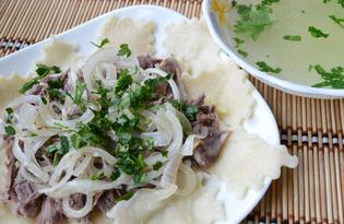 Бешбармак казахский (пошаговый фото рецепт)