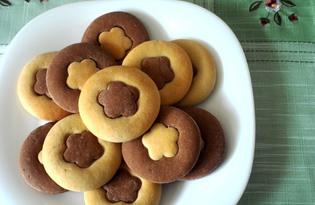 """Песочное печенье на сметане """"Сюрприз"""" (пошаговый фото рецепт)"""