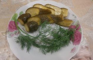 Малосольные огурчики хрустящие (пошаговый фото рецепт)