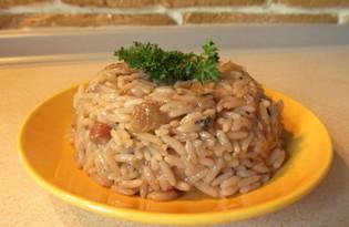 Рис с баклажанами по-турецки (пошаговый фото рецепт)