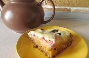 Пирог с тыквой и яблоками (пошаговый фото рецепт)