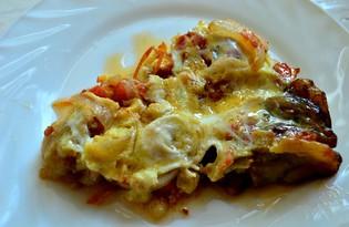 Омлет с баклажанами (пошаговый фото рецепт)