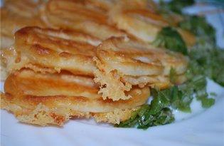 Жареный сыр в кляре (пошаговый фото рецепт)