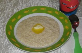 """Каша """"Арнаутка"""" с палочкой корицы на молоке (пошаговый фото рецепт)"""
