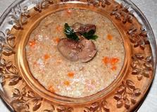 Ячневая каша с морковью и луком в мультиварке (пошаговый фото рецепт)