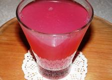 Компот из винограда с лимонным соком (пошаговый фото рецепт)