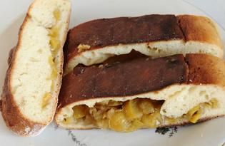 Пирог с ранетками (пошаговый фото рецепт)