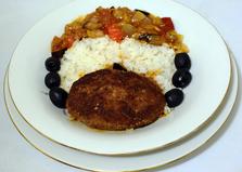 Котлеты с овощной подливой (пошаговый фото рецепт)