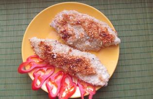 Куриное филе в кунжуте (пошаговый фото рецепт)